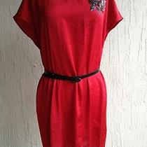 Dkny Red Dress Med Nwot Photo