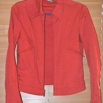 Dkny Red Jacket Light Weight Size S/4 Nwot Photo