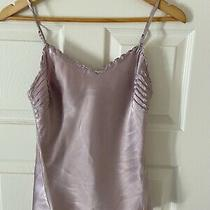 Dkny Silk Camisole Top  Adjustable Straps  Worn 1 Time  Sz 8 Photo