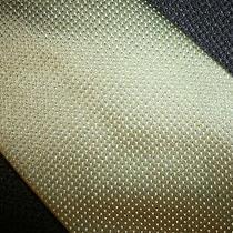 Dkny Silk Neck Tie Pin Dot Green/white New Photo