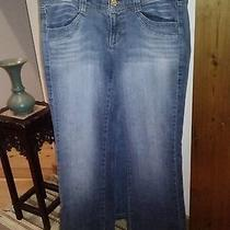 Dkny Size 13 Frayed Bottoms Bootcut  Back Picture  Buy 5 Items-Get 1 Free Photo