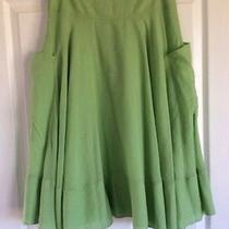 Dkny Skirt   Green   2 Photo