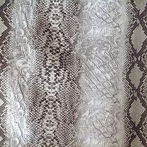 Dkny Snake Skin Painted Skirt  Photo