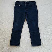 Dkny Soho Skinny Capri Jeans Women's 8 Blue Photo