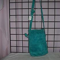 Dkny Suede Aqua Leather Bbag Photo
