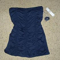 Dkny Swimsuit Bandeau Swimsuit Nwt Size 10 Black Photo