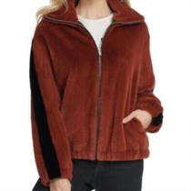 Dkny Teddy Zip Jacket Size Xs Photo