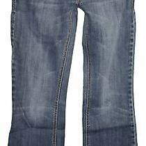 Dkny Time Square Sz 29 Womens Blue Jeans Denim Pants Stretch Eu50 Photo