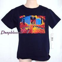 Dkny Top Shirt Boys 6 Blue Art New 20 Photo