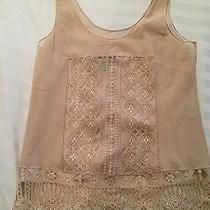Dkny Top With Lace Trim Photo