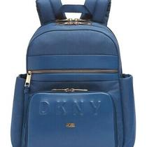 Dkny Trademark Backpack Color Colonial Blue  Photo