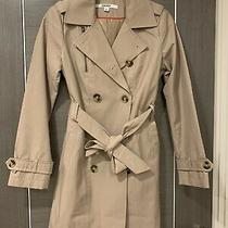 Dkny Unworn Classic Trench Coat Women Size Xs (Fits Uk 8-10) Photo