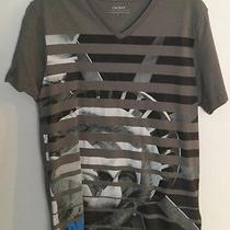 Dkny v-Neck Graphic Tee Size Small Photo