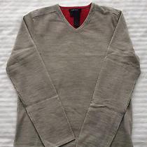 Dkny v Neck Wool Sweater Small Mens Photo