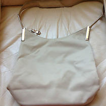 Dkny Vinyl Shoulder Bag/ Beige  Photo