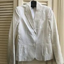 Dkny White Blazer Sz 8 Photo