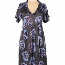Dkny Women Blue Casual Dress 6 Photo