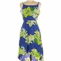 Dkny Women Blue Casual Dress L Photo