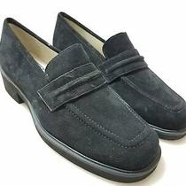 Dkny Women's Black Suede Loafer Flats Sz 6 Photo