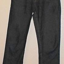 Dkny Women's Jeans Petite Size 2 Straight-Leg Dark Blue Wash Brand Name Designer Photo
