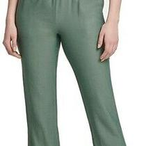 Dkny Women's Pants Green Size Xs Cropped Pull-on Elastic-Waist Stretch 79 635 Photo
