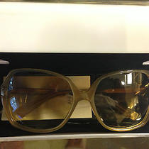 Dkny Women's Sunglasses Dy4080 Transparent Beige/brown Shaded Brand New  Photo