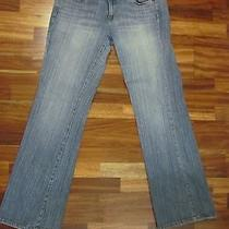 Dkny Womens Jeans Size 13 Denim Times Square Flare  Women's Juniors Tall Long Photo