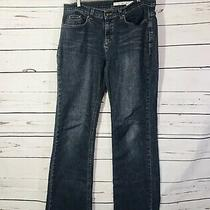 Dkny Womens Jeans Sz 8 Blue Straight Leg Med Wash Ladies Pants 5 Pocket Photo