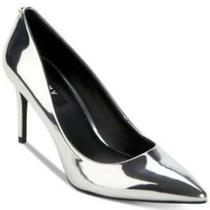 Dkny Womens Letty Pointed Toe Classic Pumps Silver Size 5.5 Photo