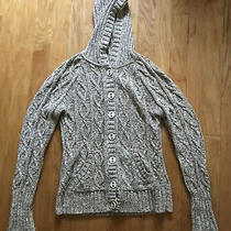 Dkny Womens Size Xl  Long Sleeve Sweater Hooded Photo