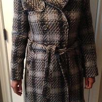 Dkny Wool Fashion Winter Coat Photo