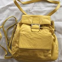 Dkny Yellow Backpack Handbag Worh Cord for Crossbody Photo