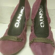 Dknyc Pink Flats New in Box  Photo