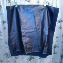 Dknyc Plus Size 3x Faux Leather Black Pencil Skirtsexy Little Thing Nwt 98 Photo