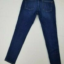 Dl 1961 Florence Maternity Instasculpt Smart Denim Embroidered Logo Blue Jeans  Photo