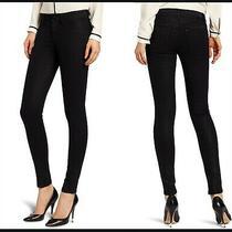 Dl1961 Emma Power Legging in Wick Wash Black Stretch Denim Jeans Size 27 Photo