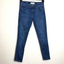 Dl1961 Florence Cropped Blue Jeans Size 27 Photo