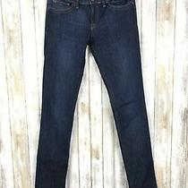 Dl1961 Karen High Rise Skinny Dark Blue Denim Jeans Classic Fit 27 Nordstrom Photo