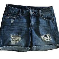 Dl1961 Karlie Boyfriend Denim Jean Shorts 25 Photo