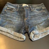 Dl1961 Piper Cuffed Girls Denim Shorts - Size 10 Photo