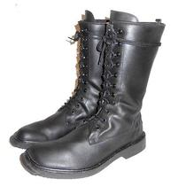 Dnky Women's Black Lace Up Military Combat Boot Jump Punk  Size 9.5 Photo