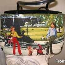 Dog Love Artsy Purse Fantasy Design of Park Scene  Great Gift Photo