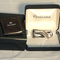 Dolan & Bullock Co. Sterling Silver 14k Gold Money Clip in Box Photo
