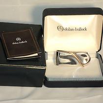 Dolan & Bullock Co. Sterling Silver 14k Gold Money Clip in Box Photo