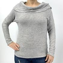 Dolan Left Coast Cowl Neck Gray Sweater Size Small Photo