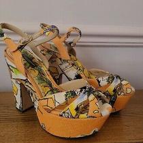 Dolce and Gabbana Summer Heels Size Uk 5 Eu 38 Us 7 Photo