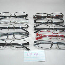 Dolce and Gabbana Wholesale Lot  d&g Eyeglasses 10 Frames  ( Lot  2) Photo