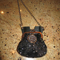 Dolce & Gabanna Crossbody Sequin Iphone 4 or 5 and Coin Purse Bag Photo