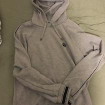 Dolce Gabanna Grey Crown Hoodie - Size 48 Photo