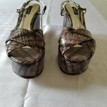 Dolce Gabbana Authentic Women Wedges Sandals Shoes Size 39. Us Size 9 Photo